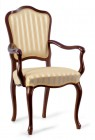 Chair with armrest E-21/RO