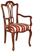 Chair with armrest M-102
