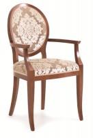 Chair with armrest U-102