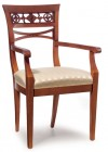 Chair with armrest P-100/RO