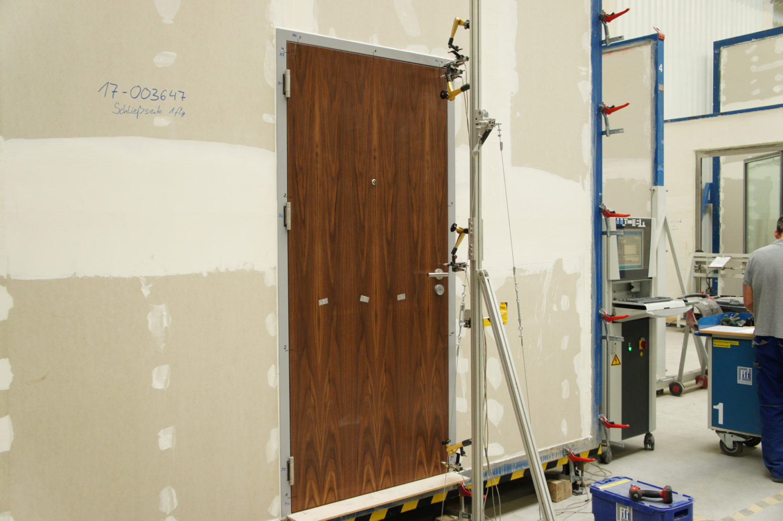 Development of new hotel doors
