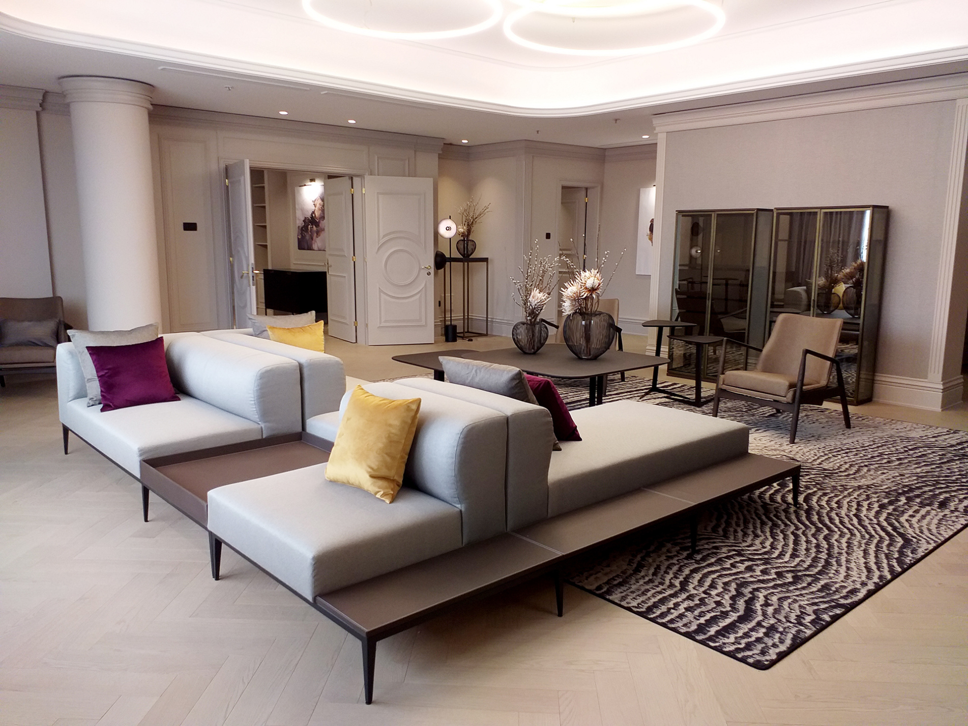 We Have Successfully Completed The Renovation Of The Presidential Suite In The Sheraton Zagreb Hotel Stilles